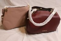 MICHAEL Michael Kors Large Raven Pebble Leather Tote / Bag - Fawn or Oxblood