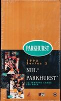 1991-92 Parkhurst Series Two Hockey Factory Sealed Box - 36 Packs Per Box