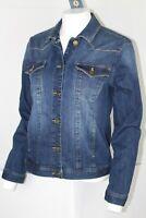 Democracy Women's Western Denim Jacket Size Small Blue B06513AR9
