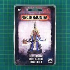 The Headsman, House Cawdor Executioner Necromunda Underhive Forge World #12051