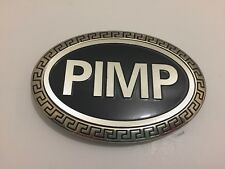PIMP Metal Fashion Belt Buckle