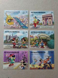 Anguilla &Barbuda Disney Characters - Fun in France MNH