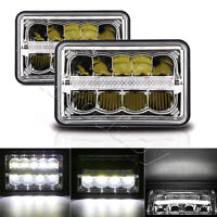 4x6'' Led Sealed Beam (One Pair) Headlight High/Low for Chevy Camaro Ford Trucks