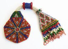 Bourse perlé perles de verre Vers 1920 porte-monnaie beaded bag purse