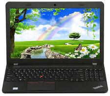 New Lenovo E560 15.6 Intel i7-6500U 2.5 GHz AMD R7 M370 8GB 500GB HD Win 7 Pro
