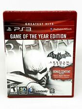 Batman Arkham City Game Of The Year Edition - PS3 - Brand New | Factory Sealed