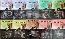 Sandman HARDCOVER lot run #1-10 COMPLETE RAINBOW SET - Neil Gaiman Vertigo RARE