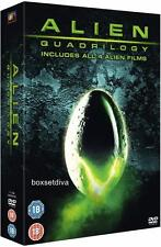 ALIEN QUADRILOGY - COMPLETE 1 2 3  & 4 FILMS **BRAND NEW DVD BOXSET*
