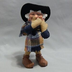 Simpich Elf Figurine Mr. Dinwiddie Handmade