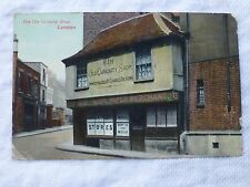R050 The Old CURIOSITY SHOP LONDON Postcard c1912