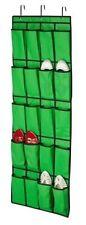 20 Pocket Over the Door Hanging Shoe Rack Closet Organizer Storage Hook Wall