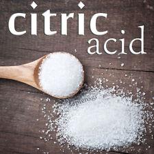 CITRIC ACID 190g (6.7oz)  - FOOD GRADE - PREMIUM GRANULAR BATH ANHYDROUS PURE