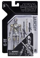 """Star Wars The Black Series 6"""" Inch Archive Bounty Hunter Droid IG-88 In Hand"""