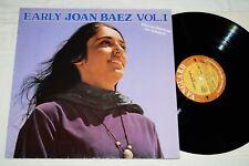 Joan Baez – Early Joan Baez, vol. 1, LP, de 1982, VG +