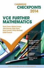 Cambridge Checkpoints VCE Further Mathematics 2014 (Paperback)
