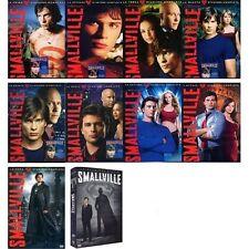 Smallville serie completa dalla Stagione 1 alla 10  Cofanetti Singoli (60 DVD)