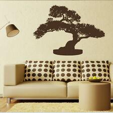 árbol bonsái Adhesivo Pared / Interior Vinilo Mural / Grande Pegatina Para TR21