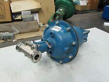 ITT Sanitary S/S Diaphragm Valve W/Air Motor P/N 1-F419-2-R2-84-3226 1