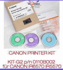 CANON PRINTER KIT-G2 0110B002 CANON iR6570 iR5570 DRUCKERKARTE G2 NETWORK PDL #K