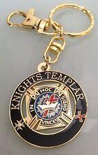 Masonic - Knights Templar Cut Out  keychain.