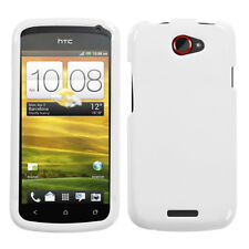 For T-Mobile HTC ONE S HARD Protector Case Snap On Phone Cover Ivory White
