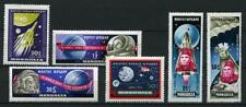 Mongolian Space Postal Stamps