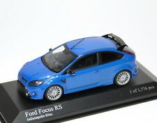 Ford Focus RS 2009 indianapolis blau blue bleu azzurro Minichamps 400088101 1:43