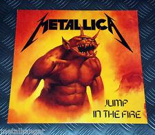 "Metallica 'Jump In The Fire' German '90 Release 3-track 12"" Maxi Single Rare VG+"