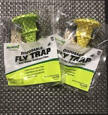 Brand New Rescue! Disposable Fly Trap - 2 Pack - Non Toxic.