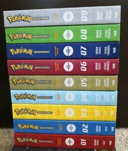 Pokemon Adventures Collector Edition Vol 1 - 9 English Manga **New**