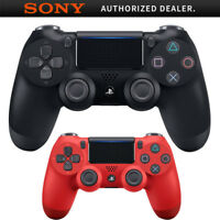 Sony Wireless Controller for PlayStation 4 + Sony Controller for PS4 Magma Red