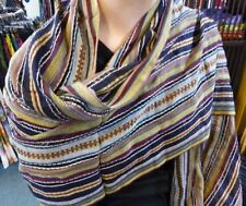 Unbranded Cotton Striped Scarves & Wraps for Women