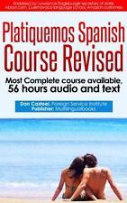 Platiquemos Spanish on USB Levels 1- 8 Complete Course Mastering Spanish Revised