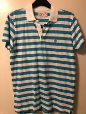 Brooks Brothers Men's Striped Cotton Polo Shirt Size S. Worn Once!