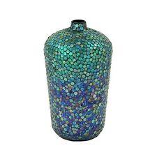 uma enterprises 24031 uma metal mosaic vase 10w 18h new - Home Decor Vases