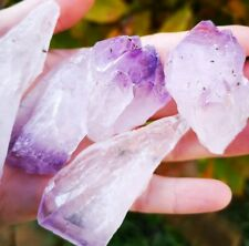 RAW ROUGH AMETHYST POINT, PIECE. FROM BRAZIL. HEALING CRYSTAL.