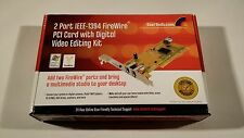 STARTECH 2-Port Firewire IEEE 1394 PCI Card (ONLY CARD) - Fast Free Shipping