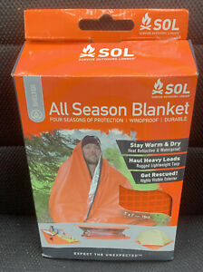 Adventure Medical All Season Blanket Heat Reflective And Waterproof Orange 1200