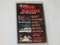 Greatest Tour Bands Ever Recorded Cassette Tape 1995 MCA Records various artists