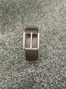 "The Savile Row Company Leather Belt Size 42"""
