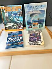 Lot Of 4 Books Saltwater Fishing Fishing Travel Grouper Snapper Jigs Bucktails