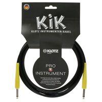Klotz KIK PPSW4.5 4.5 Meter Instrumenten Kabel made in Germany