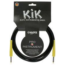 KLOTZ Instrumentenkabel 4,5m / Guitar Cable KIKC3PP5, black/yellow