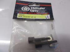 Thunder Tiger PD6018 Eje Trasero/Tuerca de DT-10