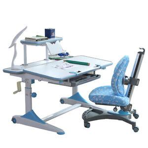 Desk ONLY Height Adjustable Kid study table Ergonomic design student office Desk