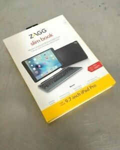 "Zagg Slim Book Series Wireless Keyboard & Detachable Case for 9.7"" iPad Pro"