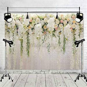 Rose Hochzeit Blumen Hintergrund Tuch Video Foto Studio Fotografie Requisite