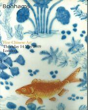BONHAMS LONDON CHINESE CERAMICS JADES BRONZES CLOISONNE BUDDHAS Catalog 2009