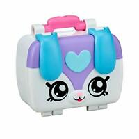 Kindi Kids Puppy Petkin Lunch Box and 3 Shopkins