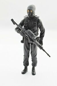 Vintage Palitoy GI Joe ACTION FORCE SAS SQUAD LEADER figure VGC 1983   #7